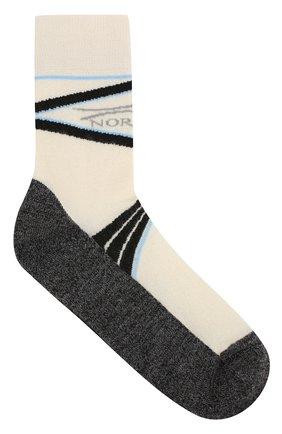 Шерстяные носки с логотипом бренда | Фото №1