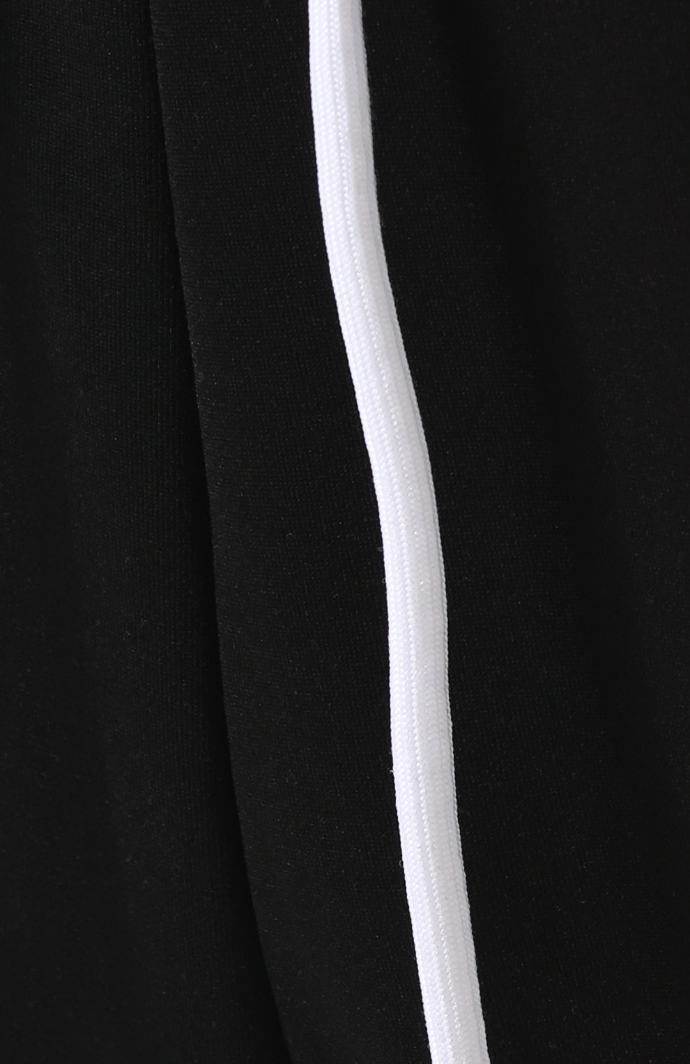 Брюки с лампасами и поясом на резинке Diesel черные   Фото №5
