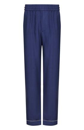 Шелковые брюки в пижамном стиле | Фото №1