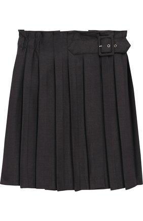 Плиссированная юбка с запахом | Фото №1