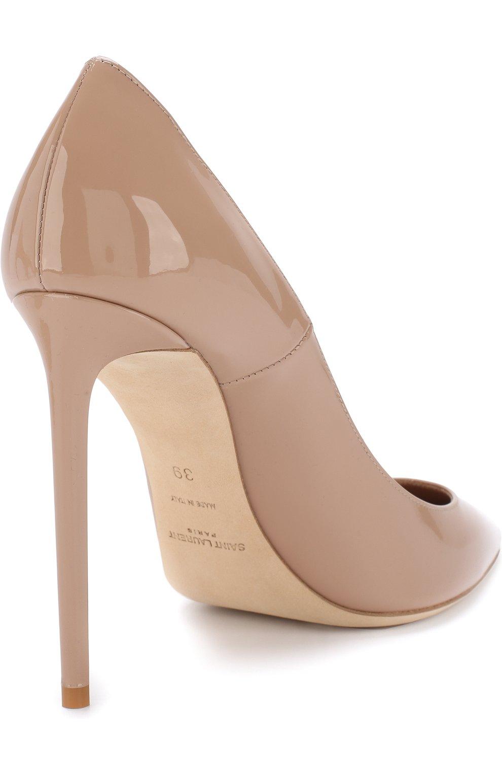 Лаковые туфли Zoe на шпильке | Фото №4