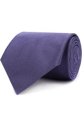 Мужской шелковый галстук BRIONI сиреневого цвета, арт. 062I00/P741N   Фото 1