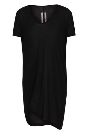 Удлиненная футболка из смеси вискозы и шелка | Фото №1