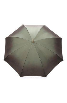 Зонт-трость Pasotti Ombrelli темно-зеленый | Фото №1