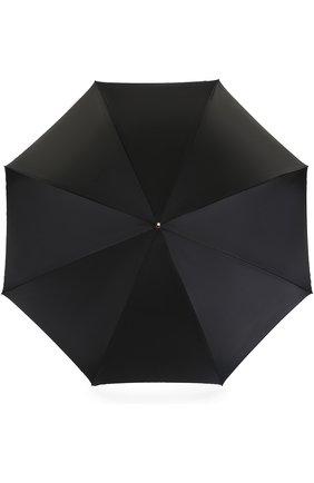 Женский зонт-трость PASOTTI OMBRELLI черного цвета, арт. 189/RAS0 5K253/1/Z16 | Фото 1