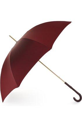 Зонт-трость Pasotti Ombrelli бордовый | Фото №1
