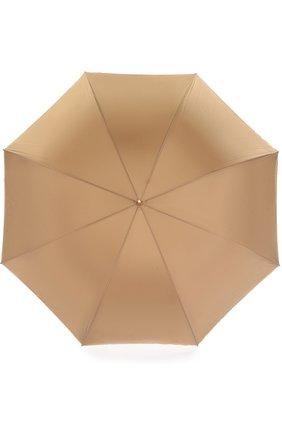 Зонт-трость Pasotti Ombrelli бежевый | Фото №1