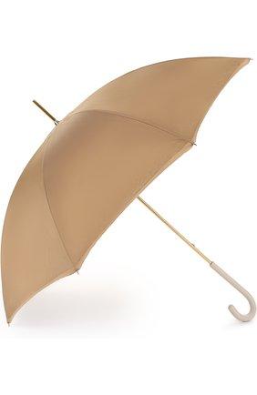 Зонт-трость Pasotti Ombrelli светло-бежевый | Фото №1
