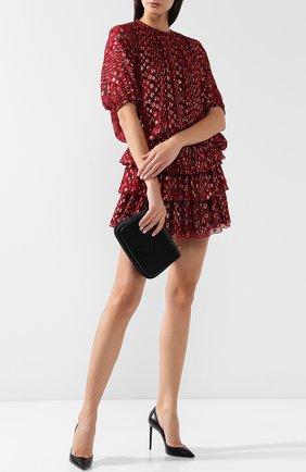 Женская кожаные туфли zoe на шпильке SAINT LAURENT черного цвета, арт. 529733/AKP00 | Фото 2