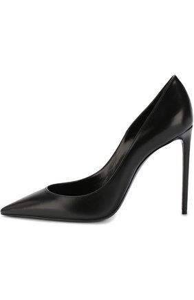 Кожаные туфли Zoe на шпильке | Фото №3