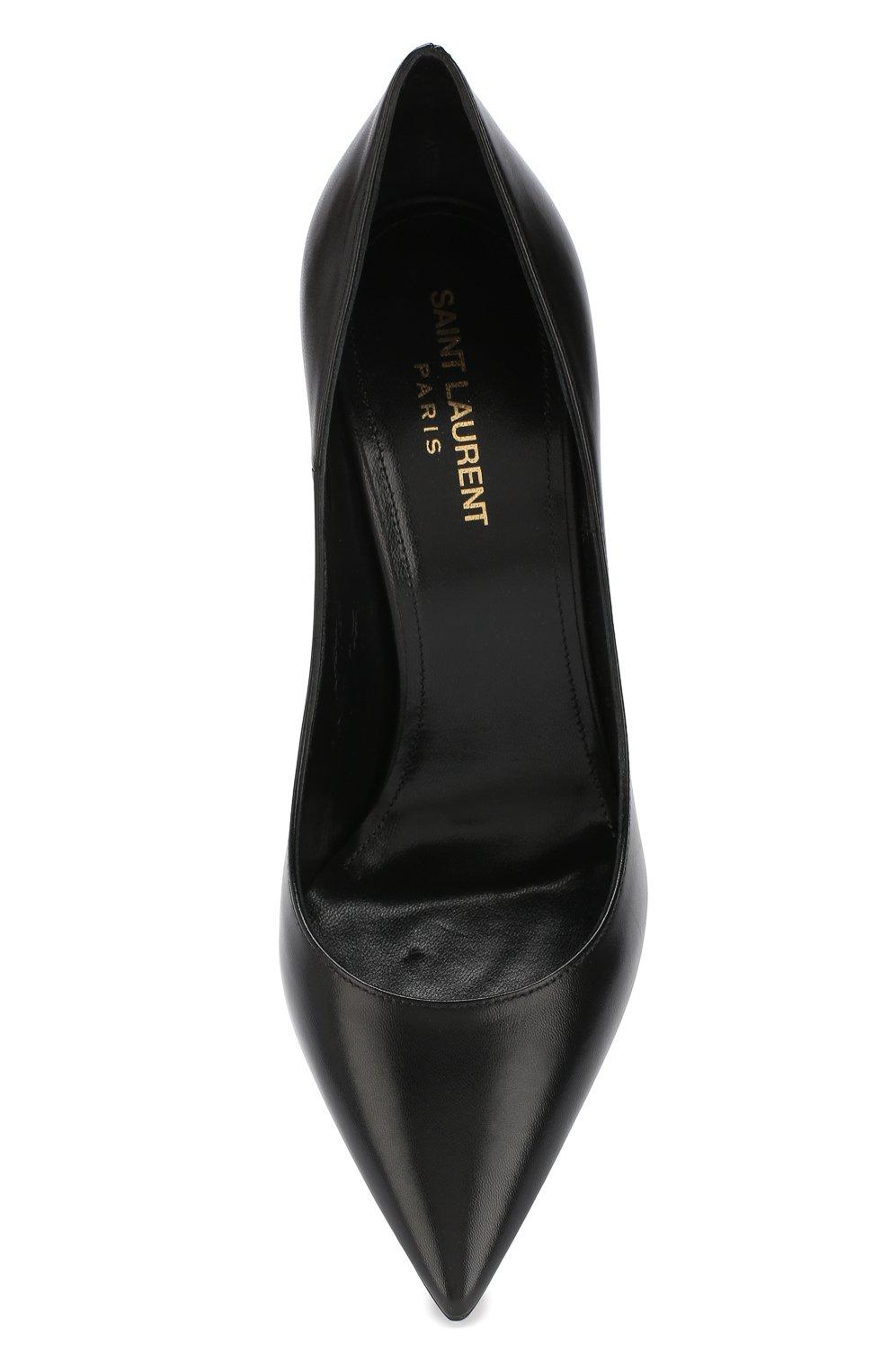 Кожаные туфли Zoe на шпильке | Фото №5