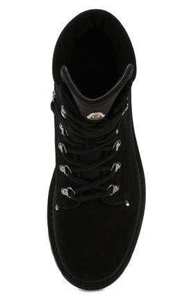 Мужские высокие кожаные ботинки на шнуровке MONCLER черного цвета, арт. D2-09A-10100-00-019CL | Фото 5 (Мужское Кросс-КТ: Хайкеры-обувь, Ботинки-обувь; Статус проверки: Проверено, Проверена категория; Подошва: Массивная)