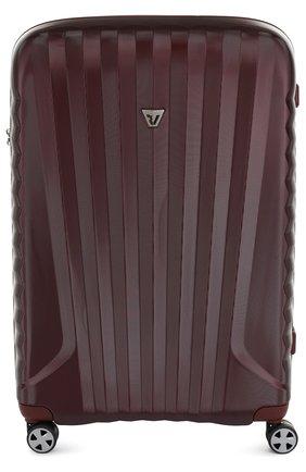 Женский дорожный чемодан uno zsl premium 2.0 на колесиках RONCATO красного цвета, арт. 54670505 | Фото 1