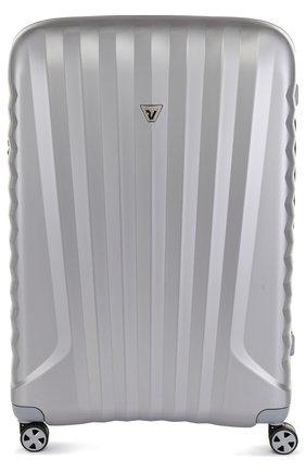 Женский дорожный чемодан uno zsl premium 2.0 RONCATO серебряного цвета, арт. 54680225 | Фото 1