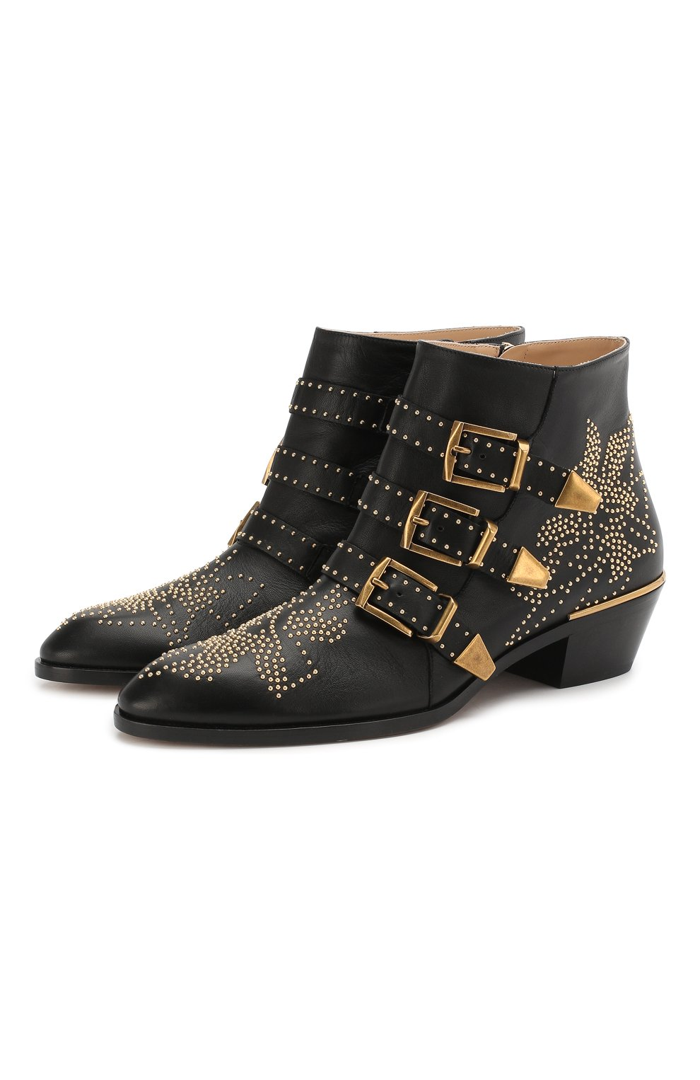Кожаные ботинки Susanna | Фото №1