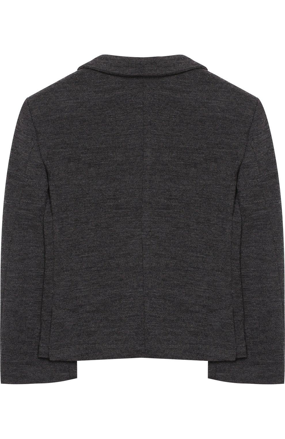 Шерстяной пиджак на двух пуговицах | Фото №2