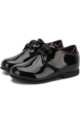 Лаковые дерби на шнуровке | Фото №1