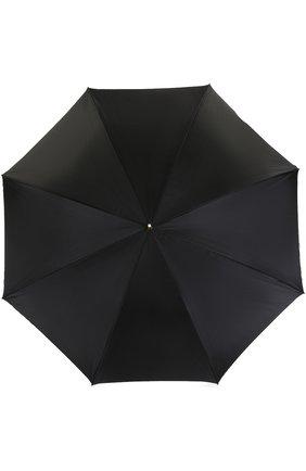 Женский зонт-трость PASOTTI OMBRELLI черного цвета, арт. 189/RAS0 5K598/3/A35 | Фото 1