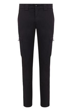 Хлопковые брюки-карго C.P. Company темно-синие | Фото №1