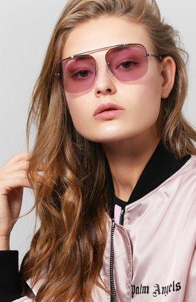 Женские солнцезащитные очки TOMMY HILFIGER светло-сиреневого цвета, арт. 1574 3YG | Фото 2