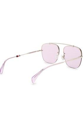 Женские солнцезащитные очки TOMMY HILFIGER светло-сиреневого цвета, арт. 1574 3YG | Фото 4