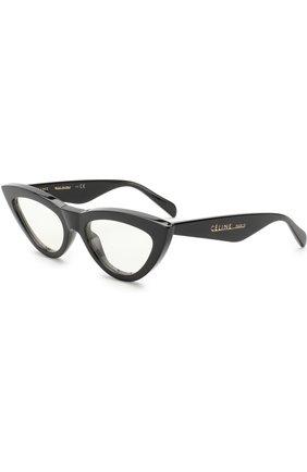 Женские солнцезащитные очки CELINE EYEWEAR черного цвета, арт. CL40019I 001 | Фото 1