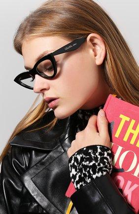 Женские солнцезащитные очки CELINE EYEWEAR черного цвета, арт. CL40019I 001 | Фото 2