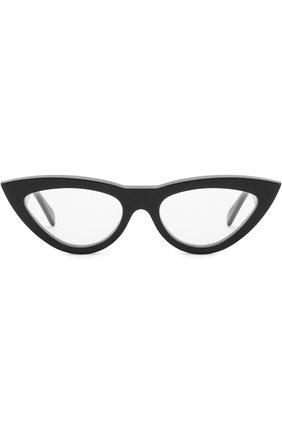 Женские солнцезащитные очки CELINE EYEWEAR черного цвета, арт. CL40019I 001 | Фото 3