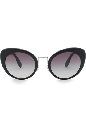 Солнцезащитные очки Miu Miu темно-синие | Фото №3