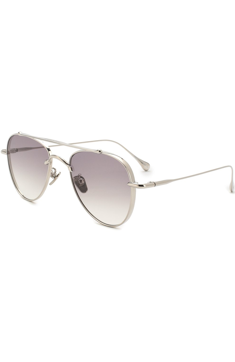 Женские солнцезащитные очки FRENCY&MERCURY серебряного цвета, арт. EG0ISTIC SUNDAY III/SS | Фото 1