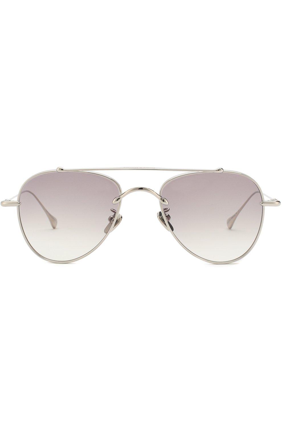 Женские солнцезащитные очки FRENCY&MERCURY серебряного цвета, арт. EG0ISTIC SUNDAY III/SS | Фото 2