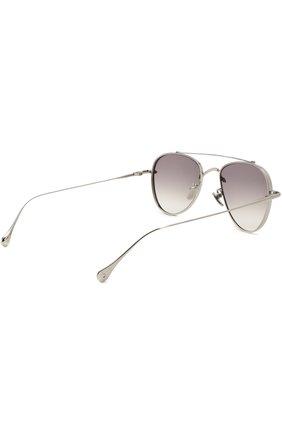 Женские солнцезащитные очки FRENCY&MERCURY серебряного цвета, арт. EG0ISTIC SUNDAY III/SS | Фото 3
