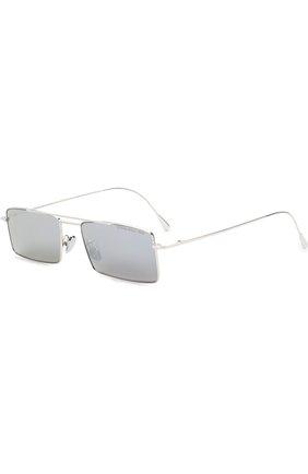 Солнцезащитные очки CutlerandGross серебряные | Фото №1