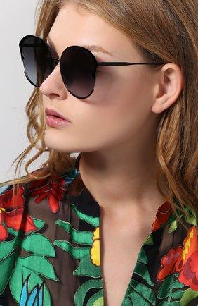 Мужские солнцезащитные очки FOR ART'S SAKE черного цвета, арт. ALECTR0NA EH4 | Фото 2