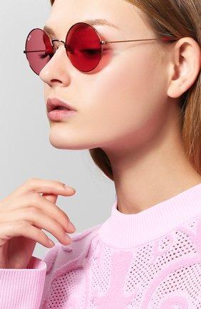 Солнцезащитные очки Ray-Ban красные   Фото №1