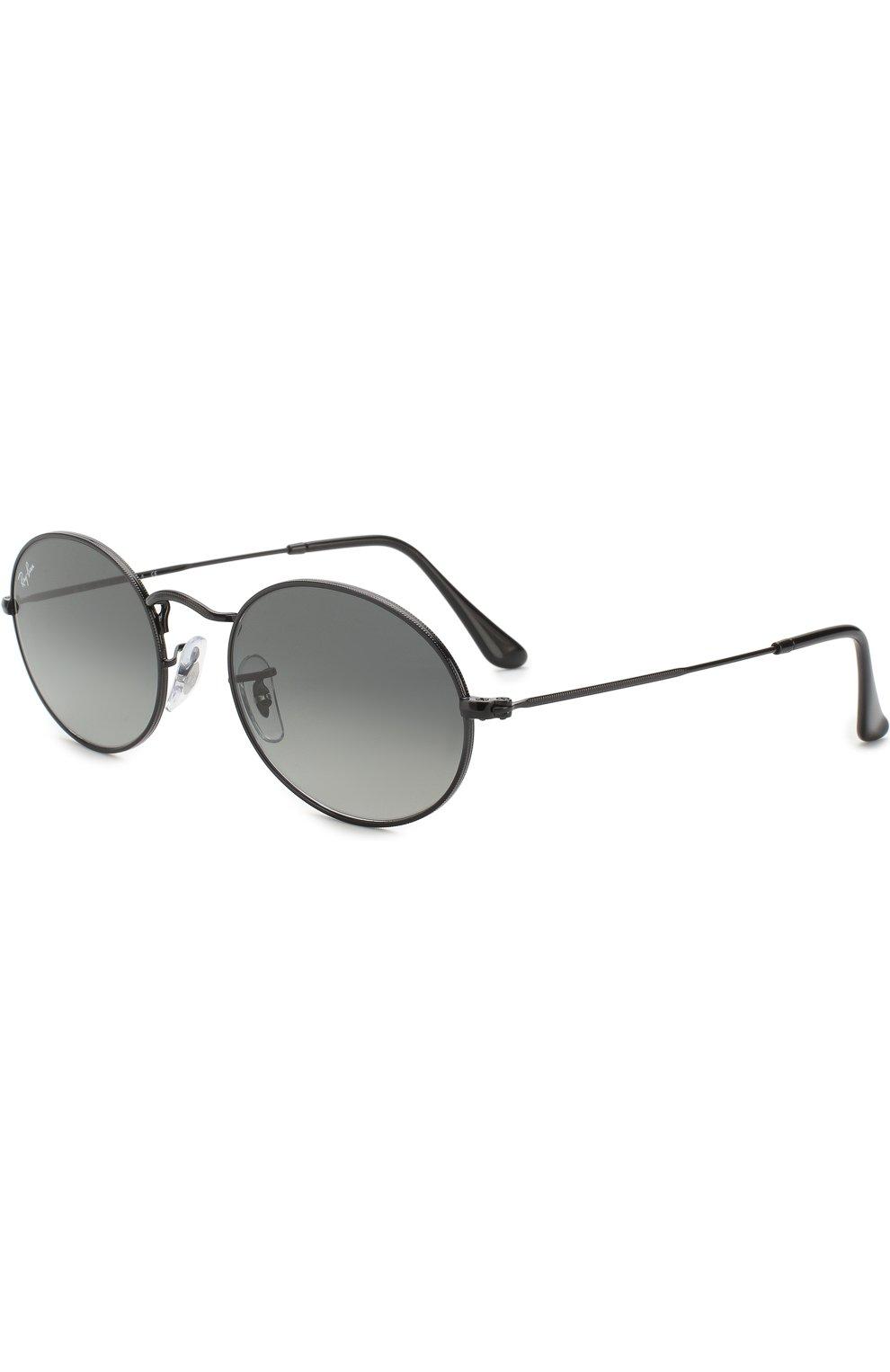 Женские солнцезащитные очки RAY-BAN черного цвета, арт. 3547N-002/71 | Фото 1