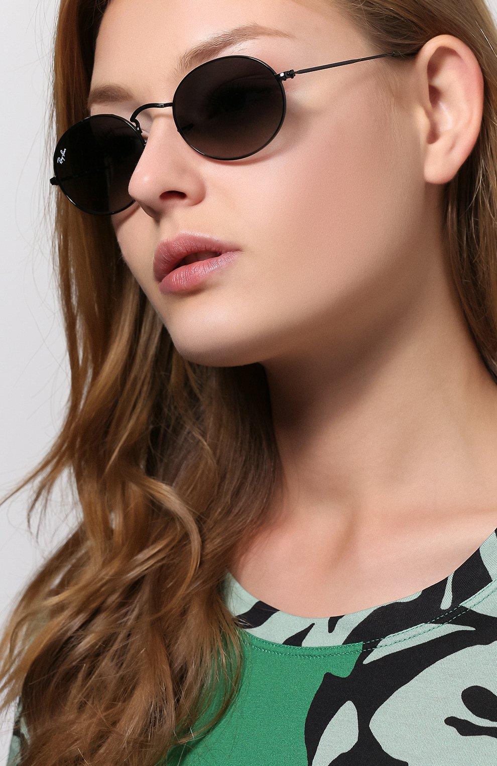 Женские солнцезащитные очки RAY-BAN черного цвета, арт. 3547N-002/71 | Фото 2