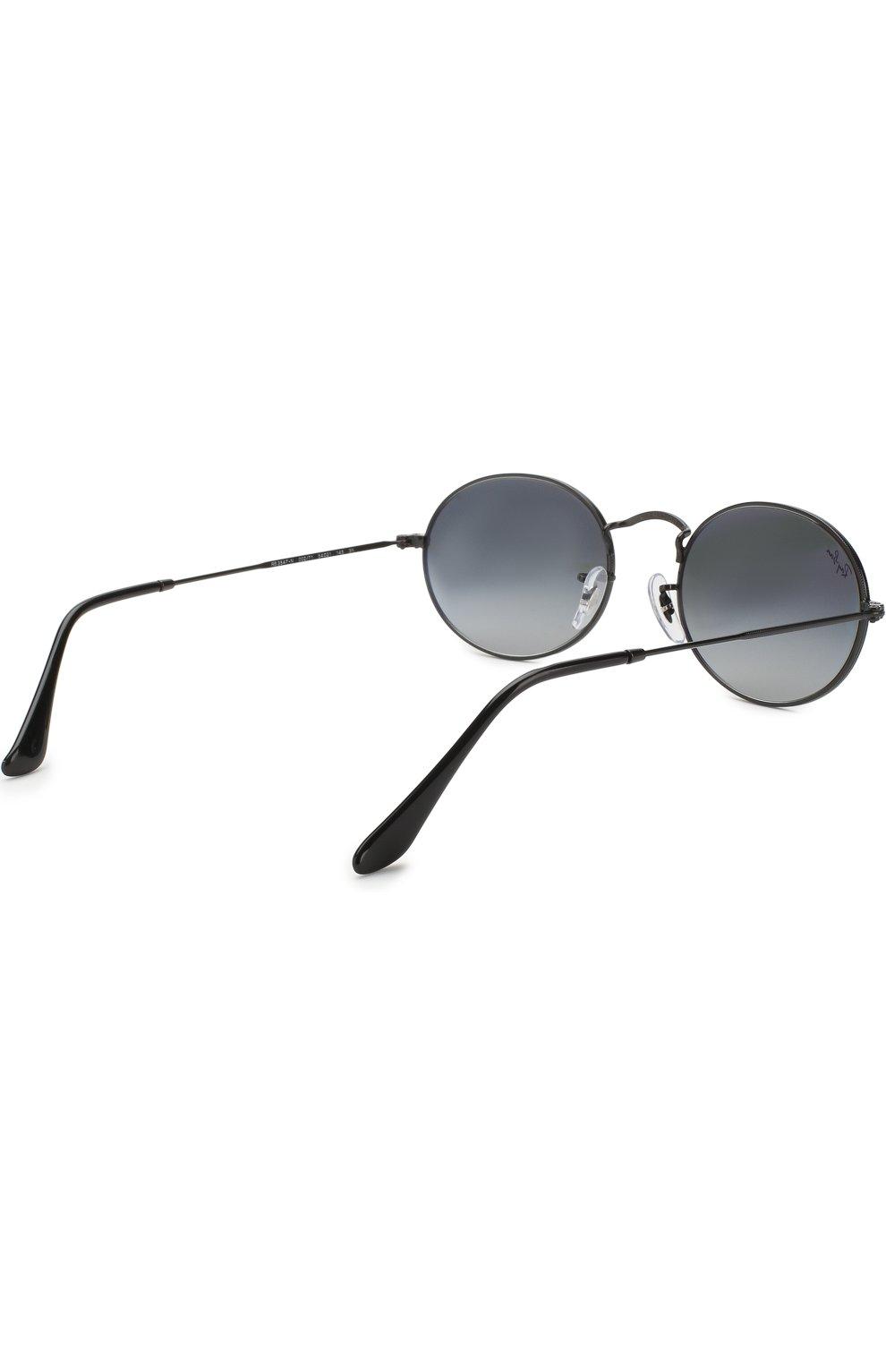 Женские солнцезащитные очки RAY-BAN черного цвета, арт. 3547N-002/71 | Фото 4