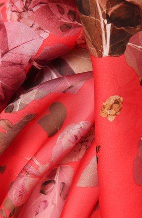 Женский шелковый платок capri RADICAL CHIC красного цвета, арт. 181308.23.03   Фото 2