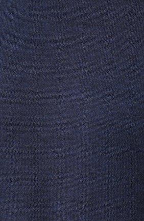 Шерстяной джемпер с контрастной отделкой   Фото №5