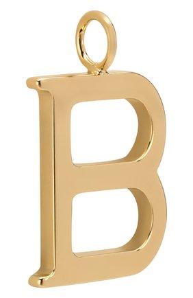 Женские подвеска для сумки alphabet key CHLOÉ золотого цвета, арт. CHC16AK03BCB79DA | Фото 2