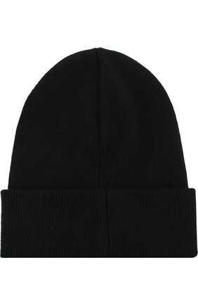 Мужская шерстяная шапка DSQUARED2 черного цвета, арт. KNM0001 13620001   Фото 2