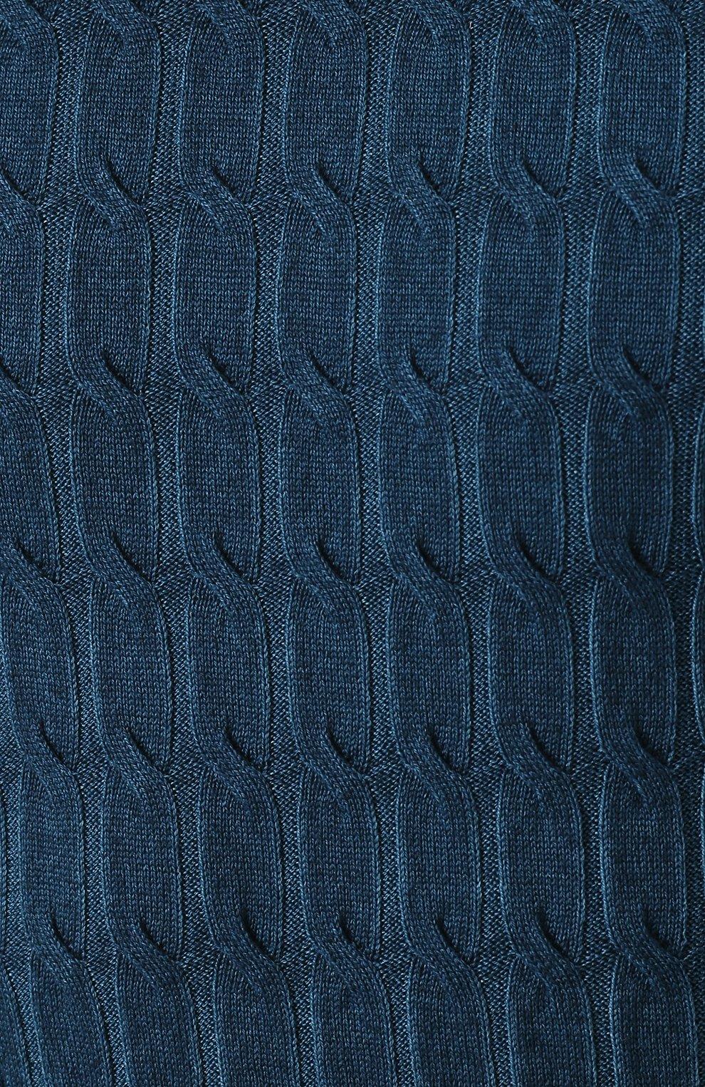 Джемпер из шерсти фактурной вязки | Фото №5