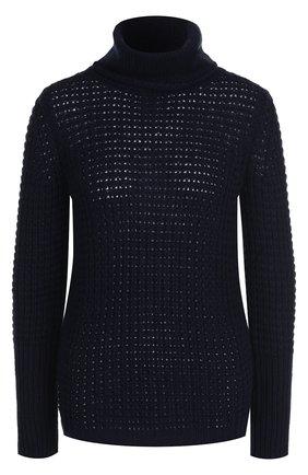 Вязаный пуловер из смеси шерсти и кашемира   Фото №1