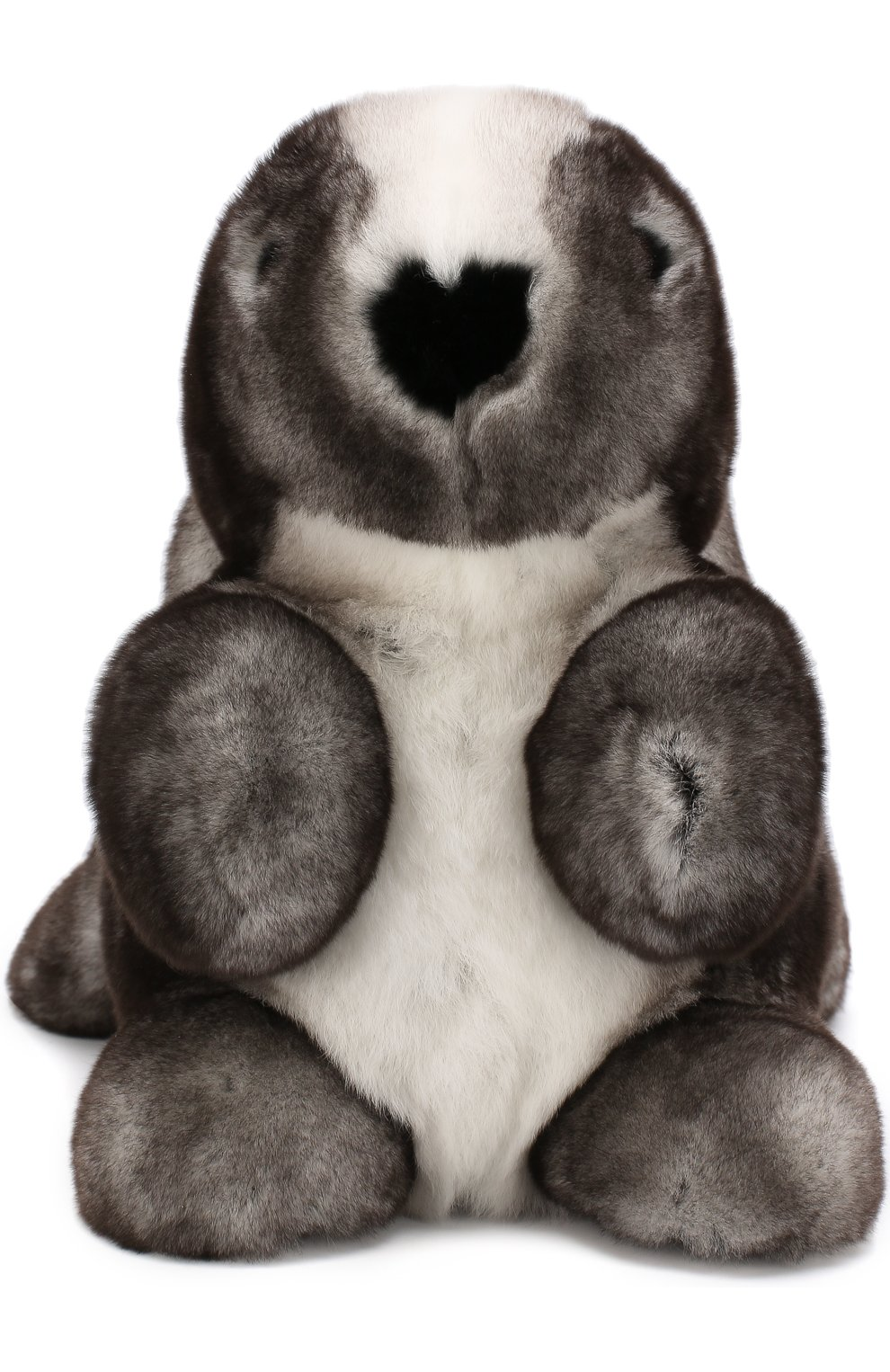 Мужского игрушка кролик с меховой отделкой LORO PIANA серого цвета, арт. FAE8597   Фото 1