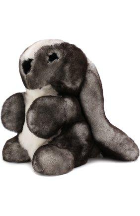 Мужского игрушка кролик с меховой отделкой LORO PIANA серого цвета, арт. FAE8597 | Фото 2