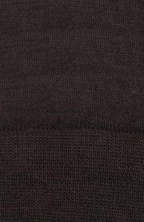 Однотонные шерстяные носки Norveg коричневые | Фото №1