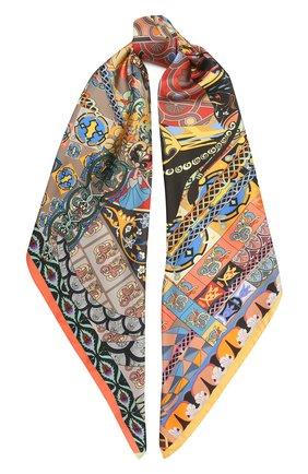 Женский шелковый платок legend RADICAL CHIC разноцветного цвета, арт. 132233.07.09   Фото 1