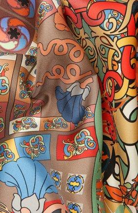 Женский шелковый платок legend RADICAL CHIC разноцветного цвета, арт. 132233.07.09   Фото 2