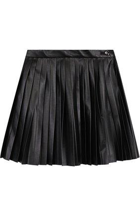 Плиссированная мини-юбка | Фото №1